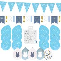 Geboorte feestpakket Nijntje blauw