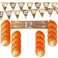 12,5 jaar jubileum feestpakket koper