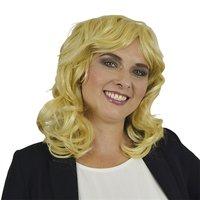 Linda, Lang met slag blond