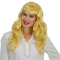Pruik Patricia golvend lang blond