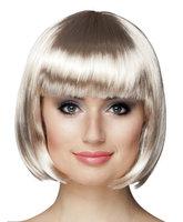 Cabaret bobline pruik platinum blond