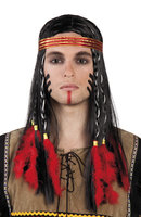 Indianenpruik man met haarband