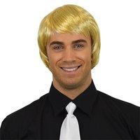 Heren steil kort model blond