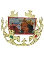 Koningskroon goud licht metaal
