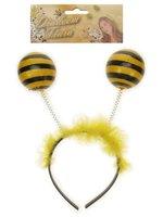 Bijen diadeem zwart geel