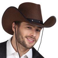 Cowboy hoed Wichita bruin volwassen maat