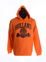 Hooded sweatshirt oranje