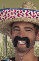 Snor Mexican zwart zelfklevend