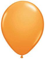 Ballonnen metallic oranje 10 stuks