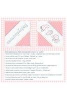 Servetten roze babyshower 20 stuks