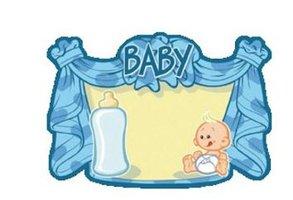 Huldeschild geboorte baby jongen