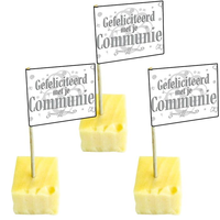 Cocktailprikkers 'Communie' 50 stuks OP=OP