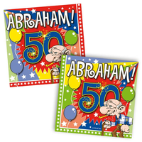 Servetten 'Abraham 50' 20 stuks