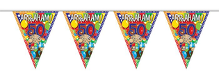 Vlaggenlijn Abraham stripes 10 mtr