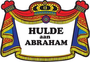 Huldeschild Abraham traditioneel