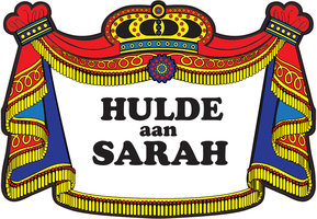 Huldeschild Sarah traditioneel