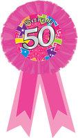 Rozet opdruk 'Sarah 50'
