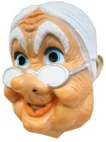 Sarah plastic masker met brilletje