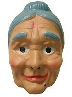 Sarah plastic masker oma met knotje