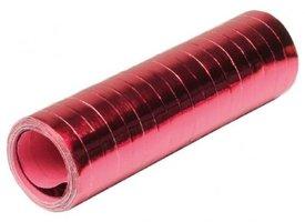 Serpentines rood metallic 18 x rol a 4 meter
