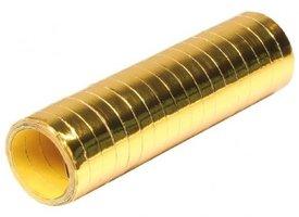 Serpentines goud metallic 18 x rol a 4 meter