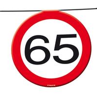 Slinger verkeersbord '65' 12 meter
