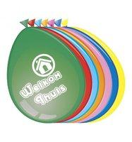 Latex ballonnen gekleurd  'Welkom thuis' 8 stuks  30 cm