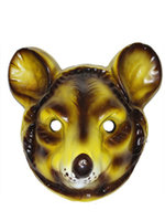 Masker rat volwassen plastic