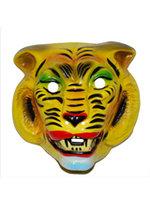 Masker tijger volwassen plastic