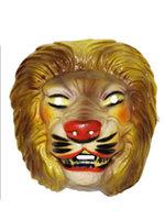 Masker leeuw volwassen plastic