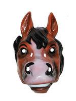 Masker paard volwassen plastic
