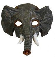 Rubber half-masker olifant