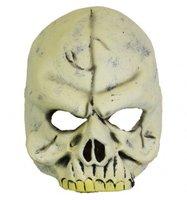 Rubber half-masker Doodshoofd