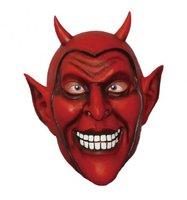 Rubber masker rode duivel