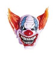 Rubber masker Crazy Clown