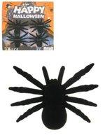 Spinnen groot zwart 4 stuks
