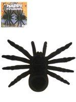 Spinnen rubber groot zwart 2 stuks