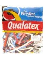 Qualatex modelleer ballonnen traditioneel gekleurd 100 stuks 260Q