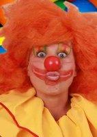 Clown dopneus rood met elastiek