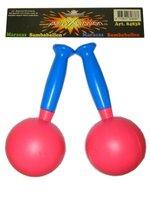 Sambaballen plastic assorti kleuren