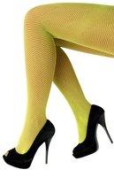 Netpanty fijne maas geel one size