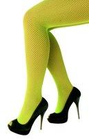 Netpanty fijne maas groen one size