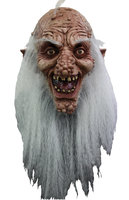 Ghoulish Masker Wratten En Knobbel Dwerg Wit Haar