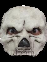 Half Masker Skull White