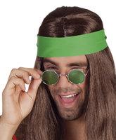 Bril John Lennon/Ozzy Osbourne met glas assorti kleuren