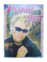 Punkset 2-delig :ring + klempiercing