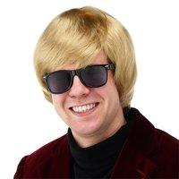 Pruik Heino blond, one size