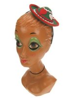 Haarband met mini dames Tirolerhoedje