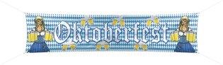 Banner Bierfeest nylon 180 x 40 cm OP=OP
