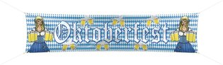 Banner Oktoberfest nylon 180 x 40 cm OP=OP